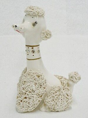 VINTAGE 1950s RELCO SPAGHETTI POODLE DOG FIGURINE