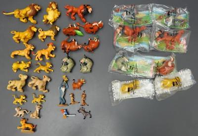 Disney's The Lion King 36 Pc Toy Lot Animals PVC Figures BK Cake Toppers