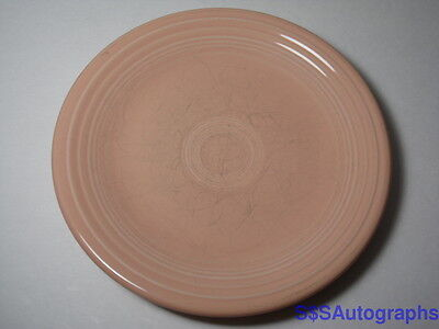 """Retired Post 1986 Apricot 7"""" Fiesta Salad Plate Hlc Homer Laughlin Co Fiestaware"""