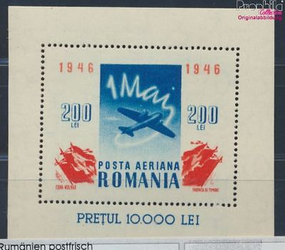 Romania block32 unmounted mint / never hinged 1946 Aircraft (8688289