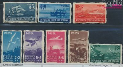 Romania 1145-1152 unmounted mint / never hinged 1948 Aviation / marine (8688286