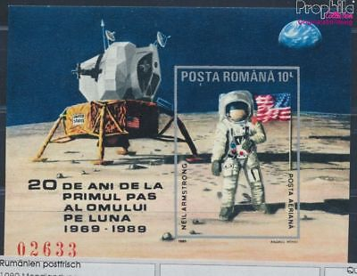 Romania block257 unmounted mint / never hinged 1989 Moon Landing (8688261