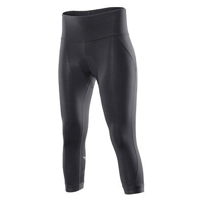 New 2XU Women 3/4 Compression Cycle Tights Small Road Bike Padded Shorts Black