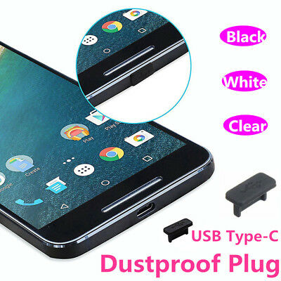 2x/5x/10x/20x/50x/100x Anti Dust Silicone Plug Protection For Type C Phones Lot