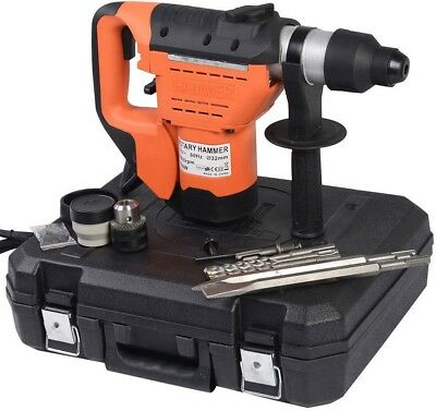 1-1/2' SDS Electric Rotary Hammer Drill Borded Drill Bit Set Demolition Tool