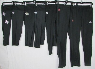 NCAA Addas Climalite Women's Compression Leggings Black XS S L *Flawed