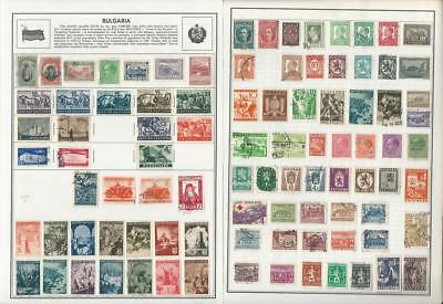 Bulgaria Collection 1900 to 1987 on Harris Pages, Around 30 Pages