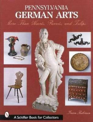 Pennsylvania German Arts Book Vintage Ceramics Metal ID