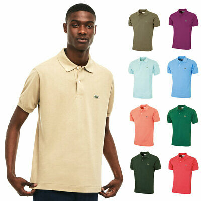 Lacoste Mens Classic Cotton L1212 Short Sleeve Polo Shirt 30% OFF RRP