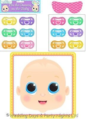 Unisex Pin The Dummy On The Baby Game Baby Shower / Gender Reveal Party Activity