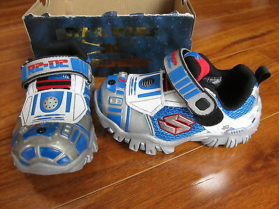 SKECHERS STAR WARS TODDLER R2D2 DAMAGER III ASTRONECH SHOES