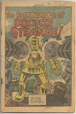 Tales Of Suspense #41 May 1963 Coverless 3rd Iron Man 1st Dr Strange Likeness