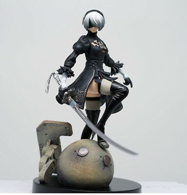 PS4 PC NieR:Automata YoRHa No. 2 Type B 2B Figure 15CM Toy Doll New in Box
