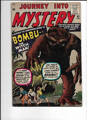 Journey into Mystery #60 VG/FN 5.0