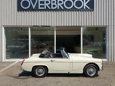 1967 MG Midget **1 FAMILY OWNED FROM NEW 42K MILES ORIGINAL UNRESTORED EXAMPLE *