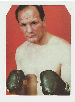 Heavyweight Boxing : Henry Cooper : large unusually shaped UK sports card