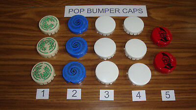 Gottlieb Pinball Pop Bumper Caps, Used, You Choose Which Ones! Low Ship!