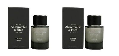 Lot Of 2 Brand New Abercrombie Fitch Colden Men Cologne 1 Fl Oz / 30 Ml Box