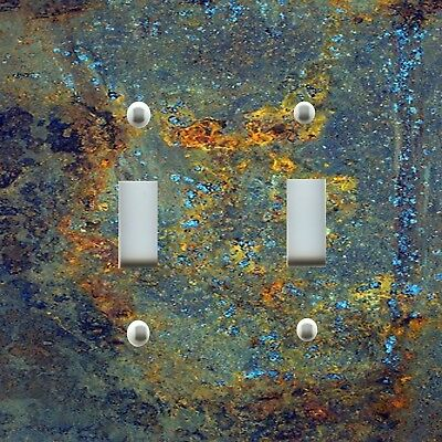 Light Switch Plate Cover RUSTIC HOME DECOR GRAFFITI ARTWORK RUST TEXTURE PATINA