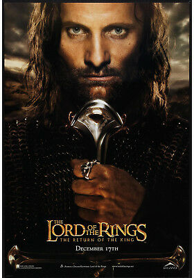 THE LORD OF THE RINGS THE RETURN OF THE KING orig rolled one sheet movie poster