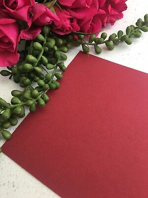 20 x BURGUNDY A4 CARD 100% RECYCLED Wedding Invitation Business Envelope
