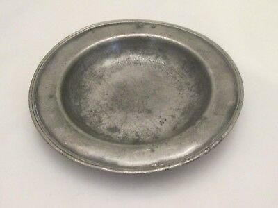An Early 18th Century Small Pewter Bowl