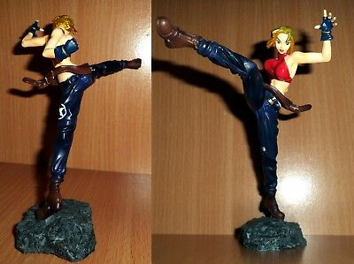 Yamato SNK King of Fighters 2000 Blue Mary figure - statue 1:12 Loose Great RARE
