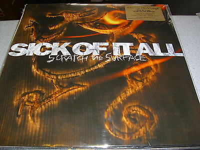 Sick Of It All - Scratch The Surface - LIMITED Coloured 180g LP  Vinyl // Neu