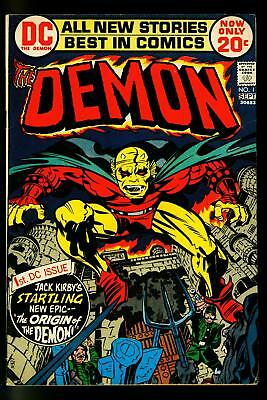The Demon #1 1975- Jack Kirby- Key Issue- Hot Book- FN/VF