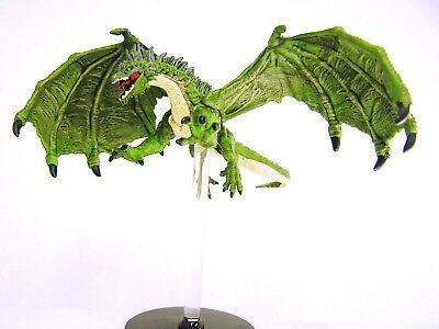D&D Icons of the Realms - #031 Green Dragon - Large Figure - Tyranny of Dragons