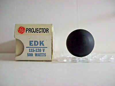 EDK Projector Projection Lamp Bulb 500W 115-120V GE *AVG. 25-HOUR LAMP*
