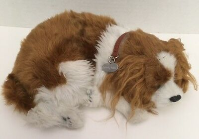 Perfect Petzzz CAVELIER KING CHARLES Breathing Puppy Dog Sleeping Collar T1