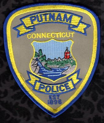 Putnam Connecticut Police Shoulder Patch