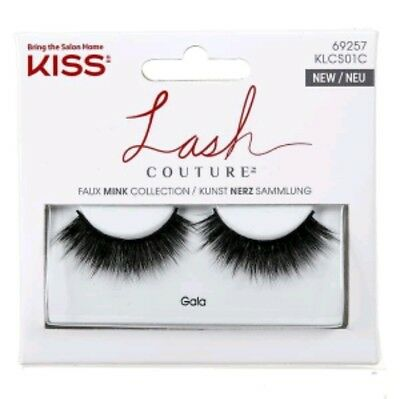 (3 Pack) KISS LASH COUTURE FAUX MINK GALA 67748 KLC501 FREE SHIPPING