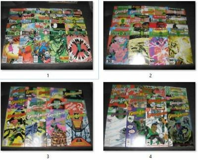 (BL72) HUGE GREEN LANTERN (1960) comic book (LOT OF 54) # 176- 224, ANNUAL 1- 3