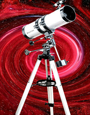 CELESTRON 127EQ Telescope with STURDY Tripod, and FREE Stars & Planet Wheel!