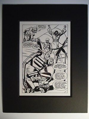 DOOM PATROL # 120 pg. 13 NEXT TO LAST ISSUE PRODUCTION ART ACETATE B. PREMIANI