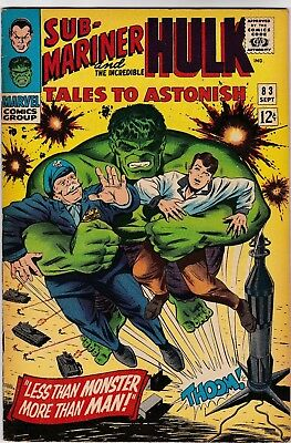 Tales To Astonish #83 September1966! Fine/vf Condition! Silver Age Classic!