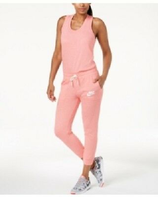 c399532a3354 NIKE SPORTSWEAR GYM Vintage Women s Jump Suit M Pink Casual Romper ...
