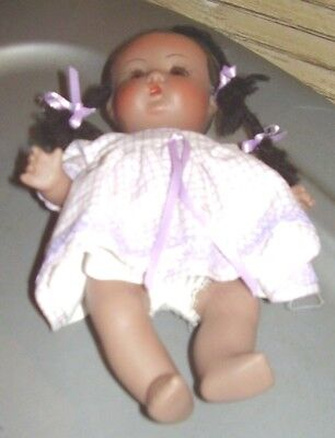 "Vintage 7"" African American Baby Girl"