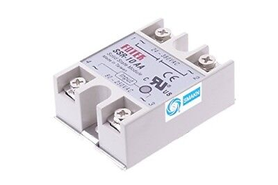 SMAKN® SSR-10AA Solid State Relay 80-250V AC / 24-380V AC / 10A