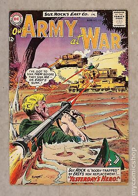 Our Army at War #133 1963 VG- 3.5