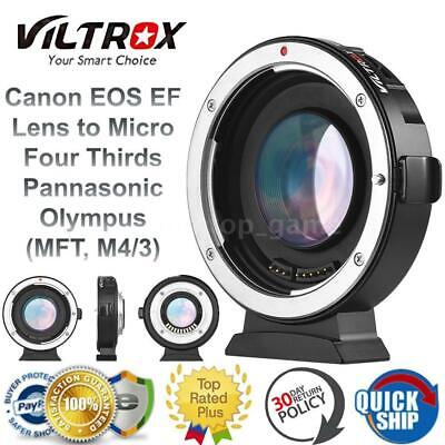 VILTROX EF-M2 AUTO FOCUS ADAPTER 0.71X APERTURE FOR CANON EF LENS MOUNT to M4/3