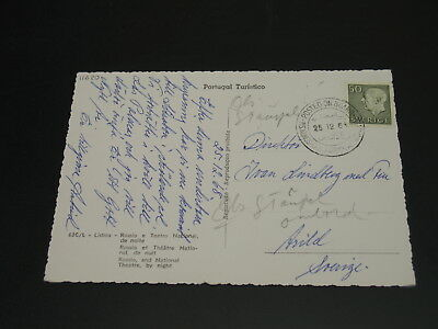 Sweden 1968 ship cancel on postcard *11620