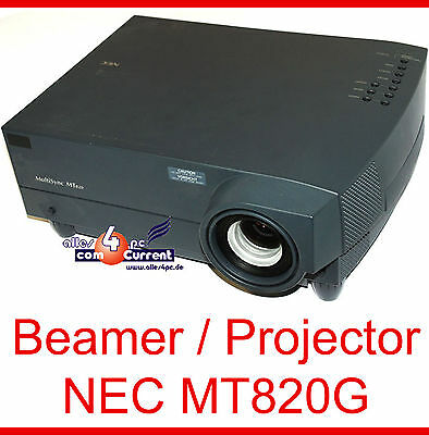 NEC MultiSync mt820g XGA Projector Lamp Only 66 Hours for heinkino -v02