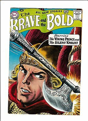 The Brave & The Bold #21  [1959 Pr]  Only 6Pgs. Last Story Only!