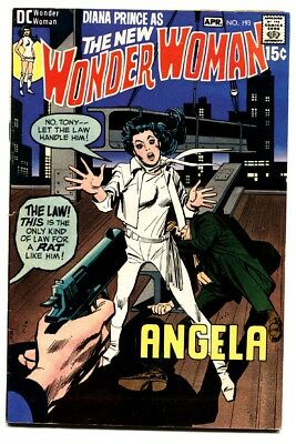 WONDER WOMAN #193 comic book 1971-WW without costume-DC BRONZE AGE