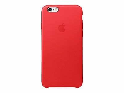 Apple Leather Cell Phone Case for iPhone 6/6S (Red)