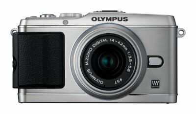 E-P3 Camera with 14-42mm Lens Silver - International Version