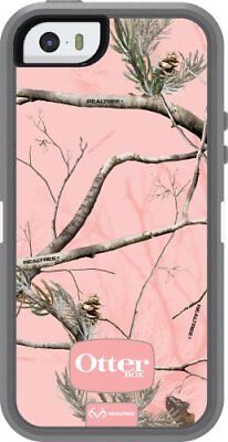 OtterBox DEFENDER SERIES Case for iPhone 5 - REALTREE AP PINK